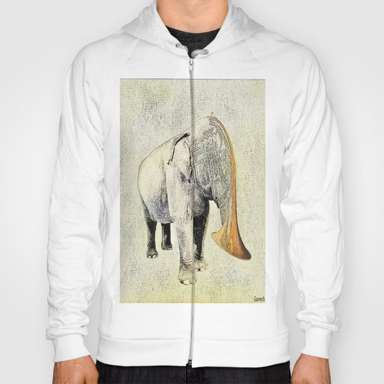 the elephant musician Hoody