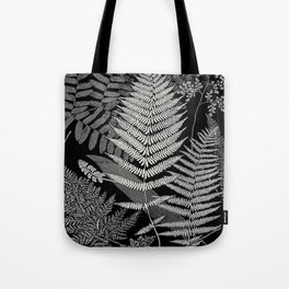 The fern paradise- a plea for the culture of ferns - Francis George Heath - 1908 Ink Black and White Tote Bag