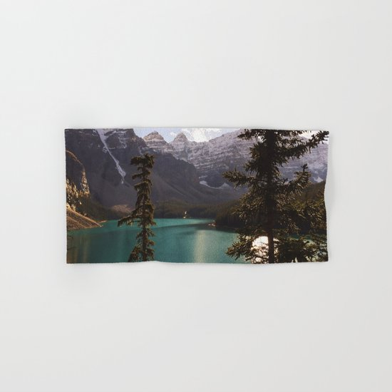 Reflections / Landscape Nature Photography Hand & Bath Towel