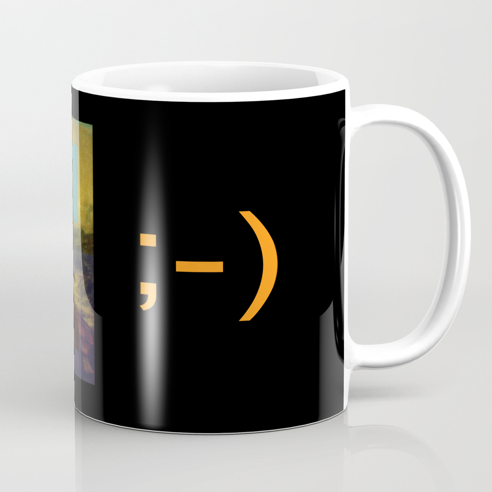 Mona Lisa Smile Mug by Rosariocurcio MUG945876