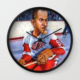 Mr. Hockey: Gordie Howe Wall Clock