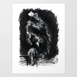 Thief Art Print