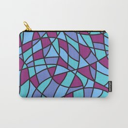 Curved Mosaic 02 Carry-All Pouch