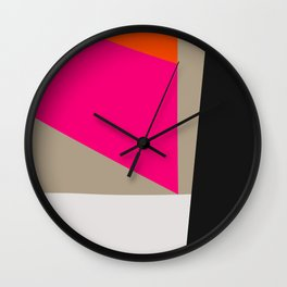 Mid Century Minimal 1 Wall Clock