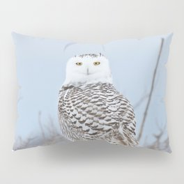 Adrift amid the drifts Pillow Sham