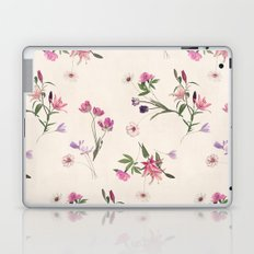 Scattered Floral on Cream Laptop & iPad Skin