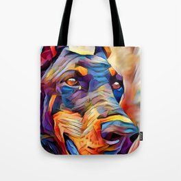 Doberman 2 Tote Bag
