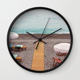 Cote D'azur - Nice, France Wall Clock