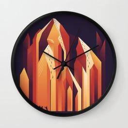 Good lines Wall Clock