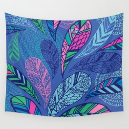 Feather Doodle Wall Tapestry