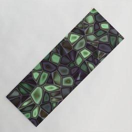 Fractal Gems 04 - Emerald Dreams Yoga Mat