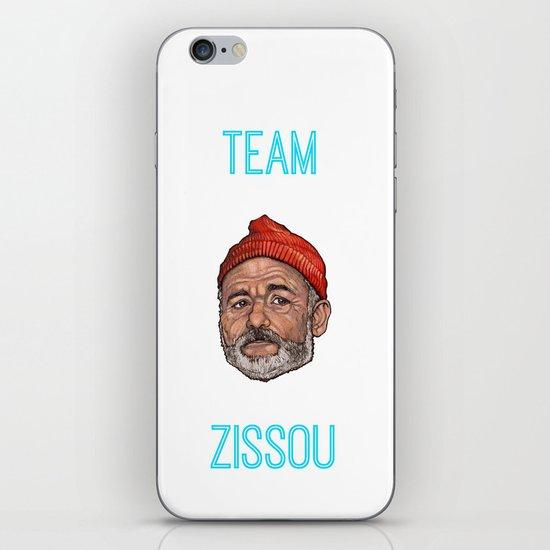 Bill Murray / Team Zissou iPhone & iPod Skin