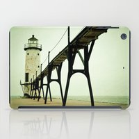 house iPad Cases featuring Manistee Light by Olivia Joy StClaire