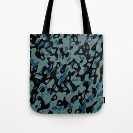 blue camo Tote Bag