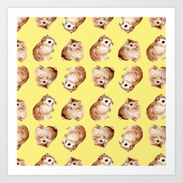 Coco the Hamster Art Print