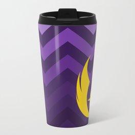 Jedi Order in Gold On Purple Ombre Chevrons Travel Mug