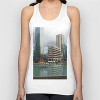 vancouver Tank Tops featuring Vancouver by Chris Root