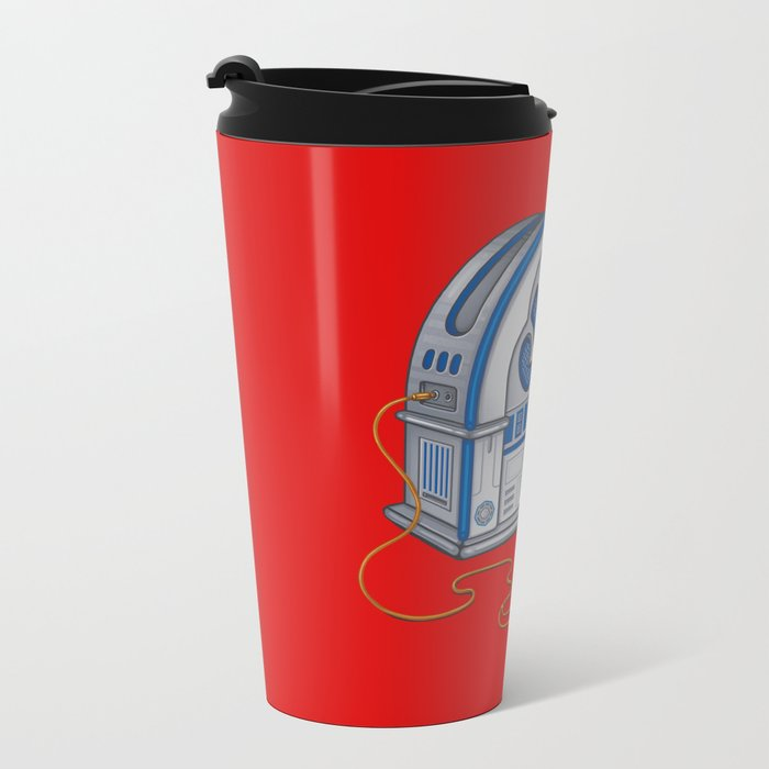 Beats by Droid - Recycled Future Metal Travel Mug