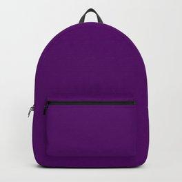 Eggplant Flat Color Backpack