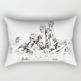 Hands Rectangular Pillow
