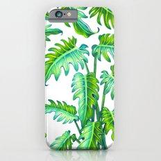 Philodendron Xanadu Slim Case iPhone 6