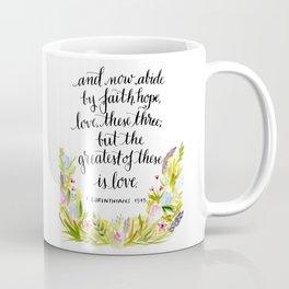 Abide By Faith Coffee Mug