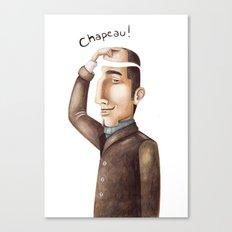 Chapeau! Canvas Print