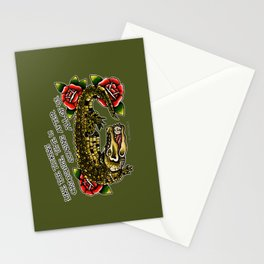 Time is Chasing After all of Us. Stationery Cards