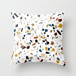 sparkly stone Throw Pillow