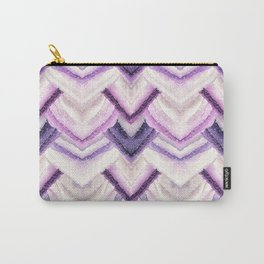 PARADISE PATTERN ULTRA VIOLET Carry-All Pouch