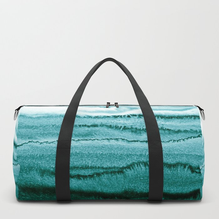 WITHIN THE TIDES - OCEAN TEAL Duffle Bag