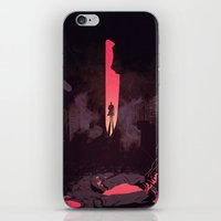 american psycho iPhone & iPod Skins featuring American Psycho by Chris Moran