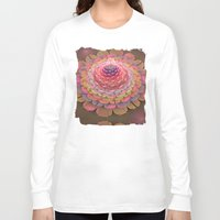 fairy tale Long Sleeve T-shirts featuring Fairy-tale Trumpet Flower by thea walstra