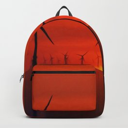 Wind Farms (Digital Art) Backpack