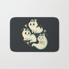 Ghost Cats Bath Mat