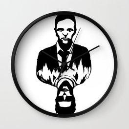 Tyler Durden/Split Personality Wall Clock