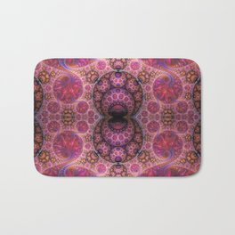 Decorative artwork with amazing curls, swirls and patterns Bath Mat