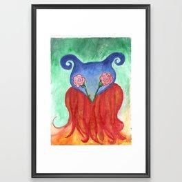 Drowse Framed Art Print