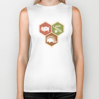 math Biker Tanks featuring simple math by 7115