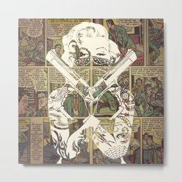 Cover Girl Metal Print