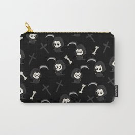 Cute Grim Reaper Pattern Carry-All Pouch