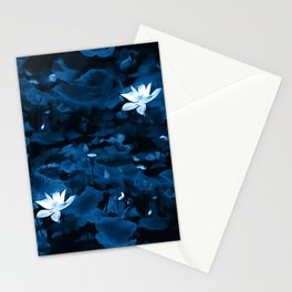 Enchanted Garden - A Lotus Pattern Stationery Cards