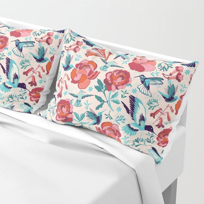 Hummingbird summerdance Pillow Sham