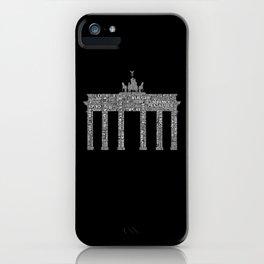 Premium Berlin District Design iPhone Case