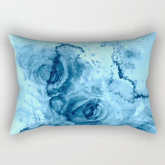 roses underwater Rectangular Pillow