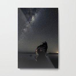Shipwrecked 3 Metal Print