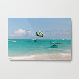 Dreaming of vacation Metal Print