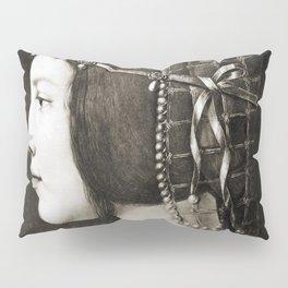 Bianca Sforza by Leonardo da Vinci Pillow Sham