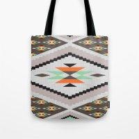 navajo Tote Bags featuring Navajo by Priscila Peress