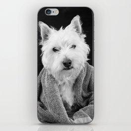 I hate Mondays Westie Dog iPhone Skin